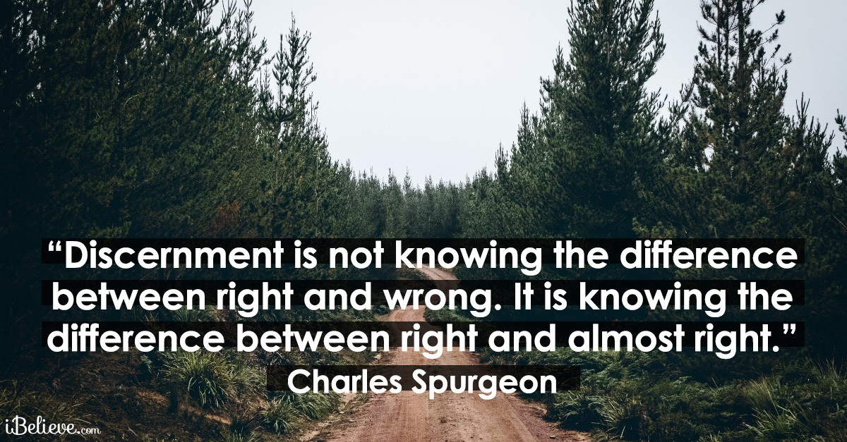 Bible Verses About Discernment