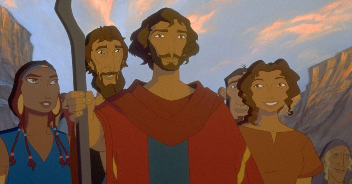 4. <strong>The Prince of Egypt (1998)</strong>