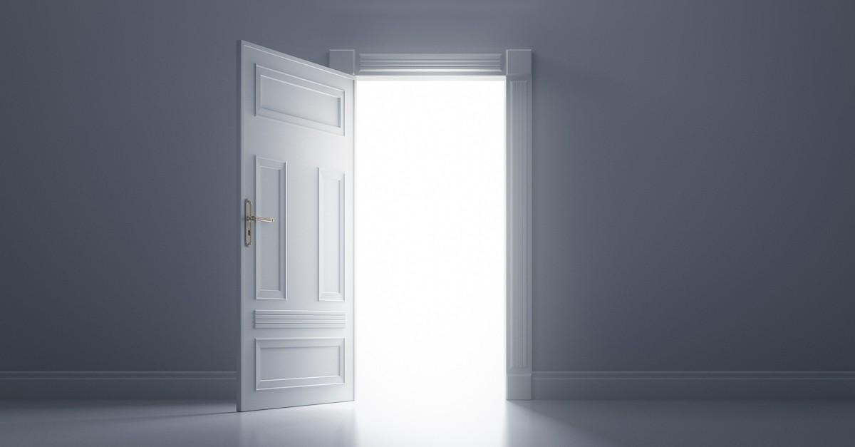 jesus said I am the door