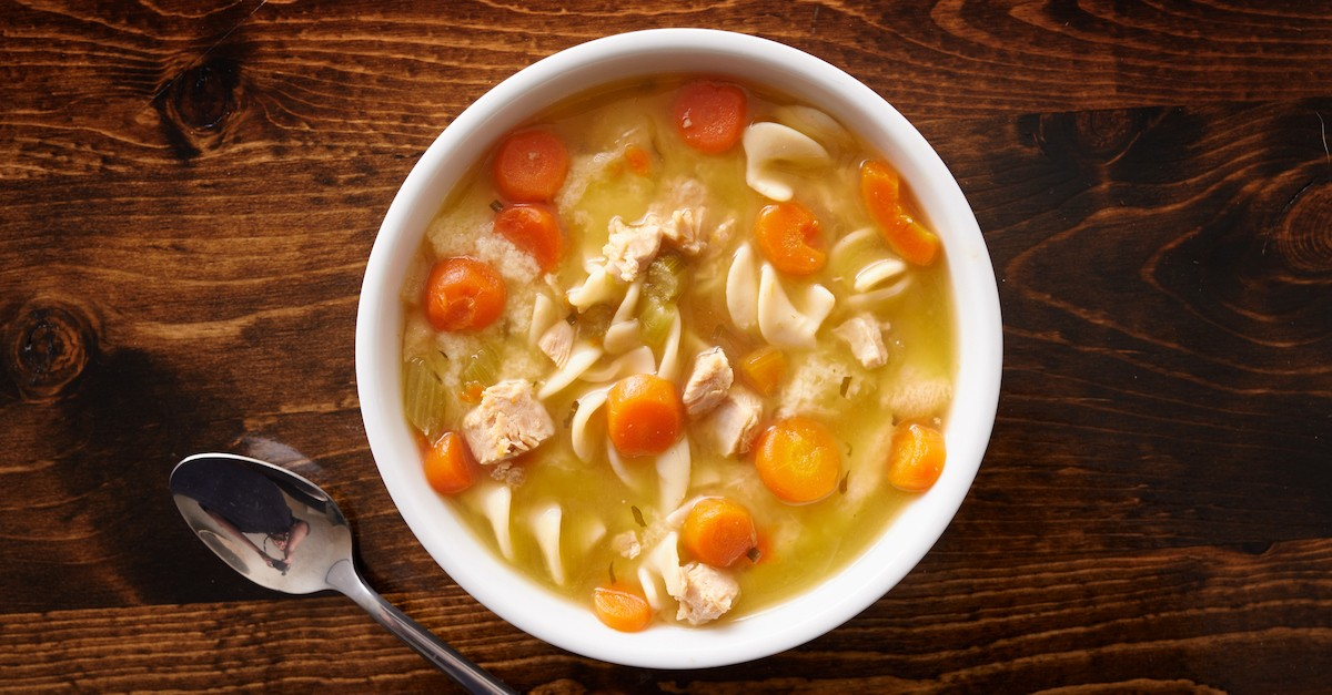bowl of chicken soup, esau sells birthright for soup