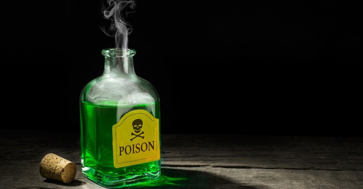 bottle of green poison, wormwood star