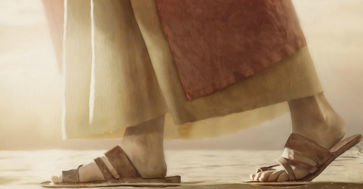 jesus walks on wayer