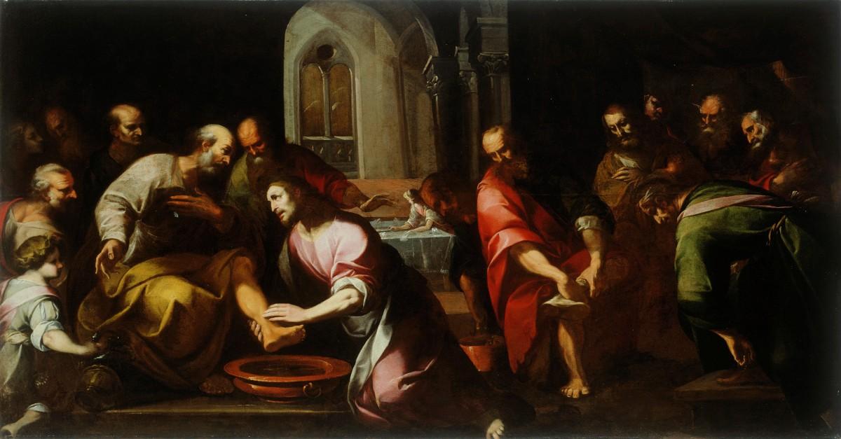 jesus washes feet, jesus washed disciples feet