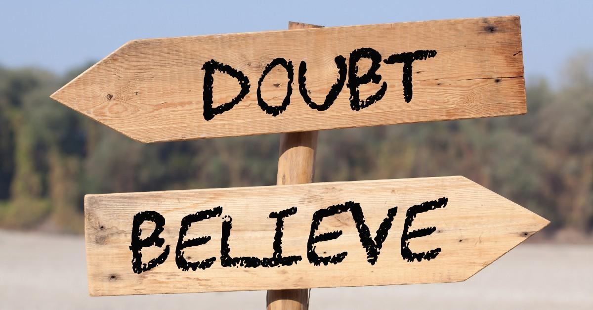 Is Doubting a Sin? - Crosswalk the Devotional - April 8