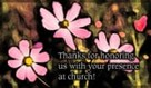 Thank - Presence At Church