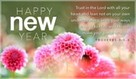 Happy New Year -Proverbs 3:5-6
