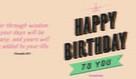 Happy Birthday - Proverbs 9:11
