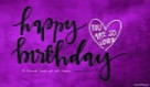 Happy Birthday - You Are So Loved