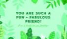 Fun + Fabulous