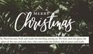 Merry Christmas - John 1:14
