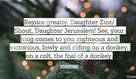 Zechariah 9:9