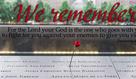 September 11, 2019: We Remember