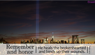 September 11, 2019: Remember and Honor