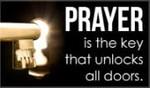 Prayer Unlocks Doors
