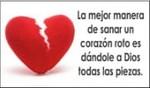 La mejor manera de sanar un corazón roto...