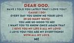 I LOVE YOU GOD!