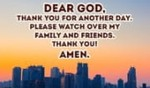 Thank you GOD for today!