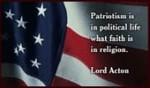 Lord Acton On Patriotism