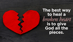 What will you do with your broken heart?