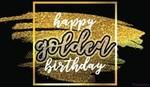 Happy Golden Birthday!