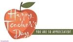 Happy World Teachers Day! (10/5)
