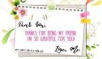 Happy Send a Card to a Friend Day! (2/7)