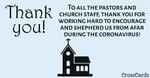 Thank You Pastors!