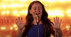 10-Year-Old Roberta Battaglia Sings 'You Say' on AGT
