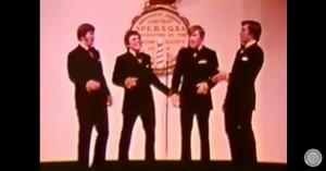 Classic Barbershop Quartet Performance Of 'Good Old Days'