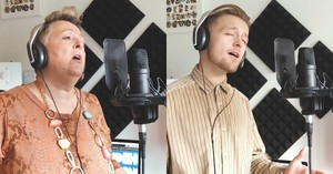 Talented Mother And Son Perform 'Hallelujah' Duet