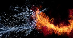 How to Fight Fire with Living Water
