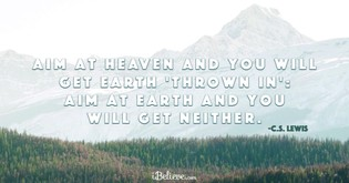 The 100 Best Cs Lewis Quotes On Heaven Soaknowledge