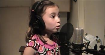 Adorable 7-Year-Old Sings 'Jesus Loves Me'