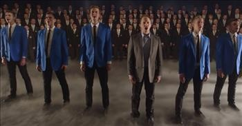 A Cappella Group Performs 'Nearer, My God, To Thee'