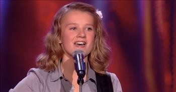 14-Year-Old Plays Guitar And Sings Dolly Parton Classic 'I Will Always Love You'