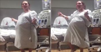 Pregnant Woman Dances Through Her Labor Pains
