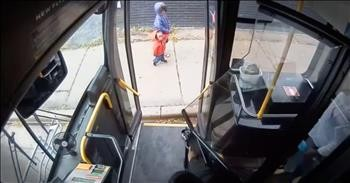 Bus Driver Saves 2 Children From A Scary Situation