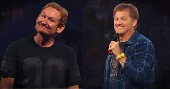 Bob Smiley And Tim Hawkins Perform At Liberty University Convocation