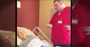 Hospice Worker Sings An Incredible Version Of How Great Thou Art To Comfort A Patient