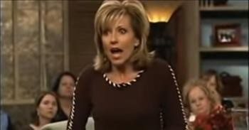 God Told Beth Moore To Brush A Stranger's Hair In the Airport