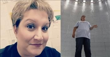 Mom Sings 'How Great Thou Art' In Empty Silo And It's Beautiful