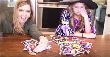 Funny Holderness Family Sings About Halloween Candy 'Mommy Tax'