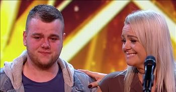 'You Are The Reason' Mother And Son Duet Earns Golden Buzzer