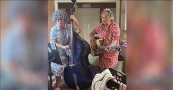 2 Grandmas Sing Hilarious 'Coronavirus Blues'