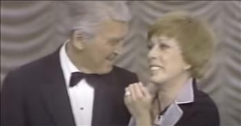 Carol Burnett Nearly In Tears After Jimmy Stewart Surprises Her On Final Show