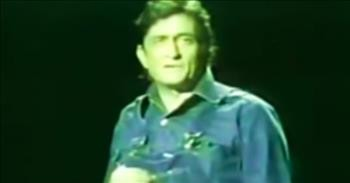 Classic Johnny Cash Clip On The Importance Of Thanksgiving