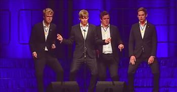 Barbershop Quartet Sings Elvis Presley 'All Shook Up' Cover