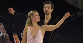 'Hallelujah' Ice Skating Routine Earns First Place For Dancing Duo