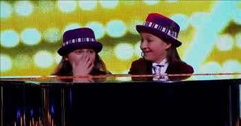10-Year-Old Twins Are Hilarious Comedy Pianists
