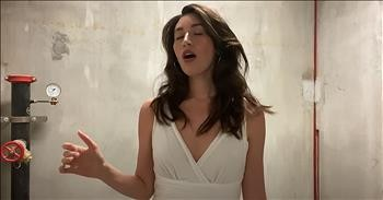 Viral Vocalist Sings 'Ave Maria' In Stairwell